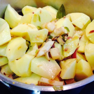Patatas chascos