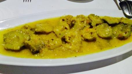 Alcachofas con salsa de Boletus